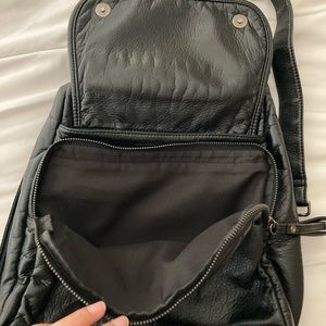 Bags - Vegan Leather Purse/Backpack